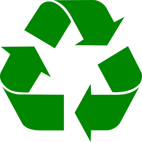 Green Recycle Symbol Main Page