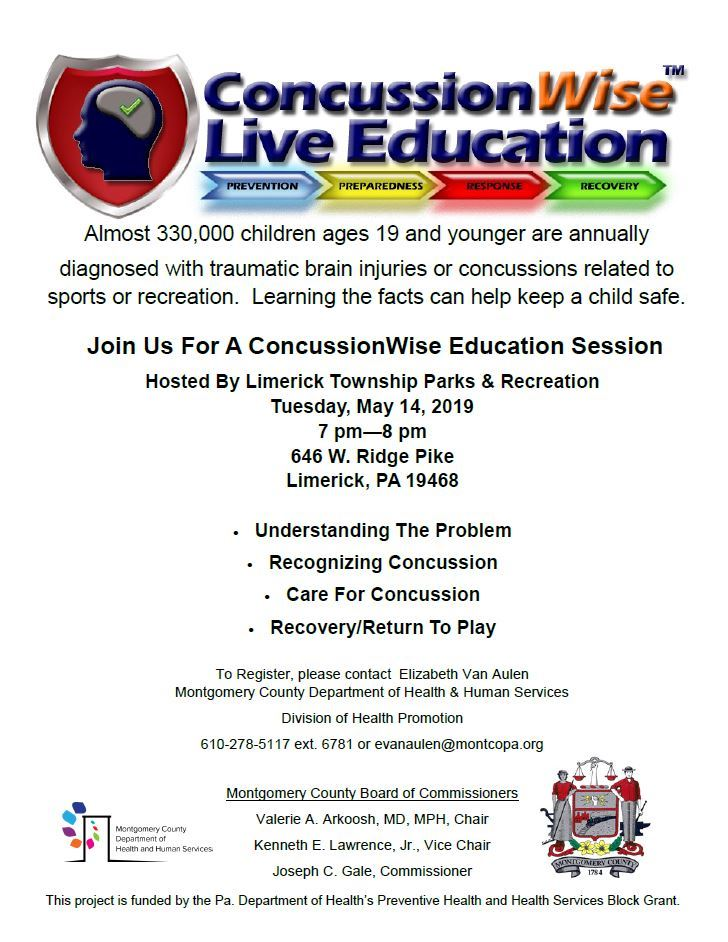 May 14 Concussion Program