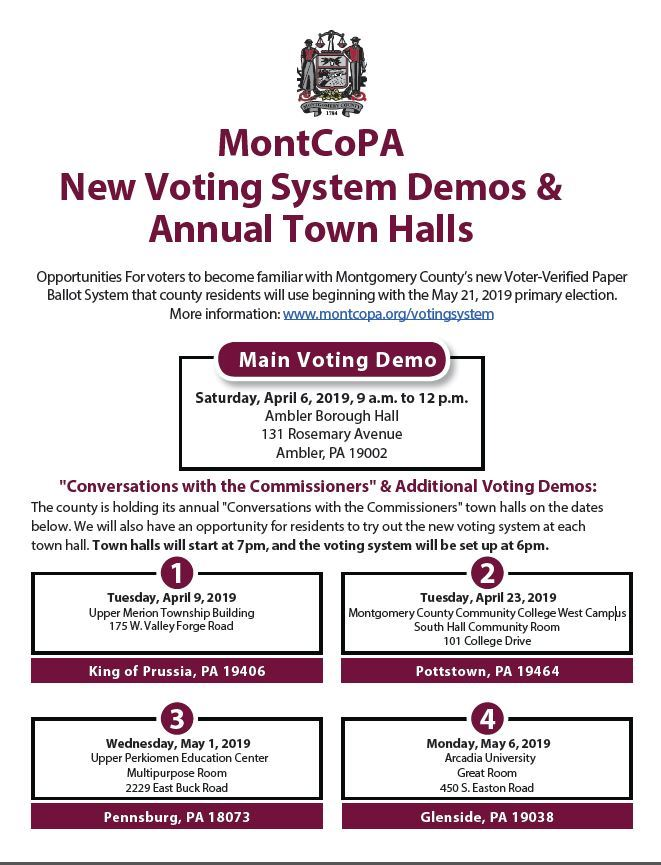 Montco Voting Machines