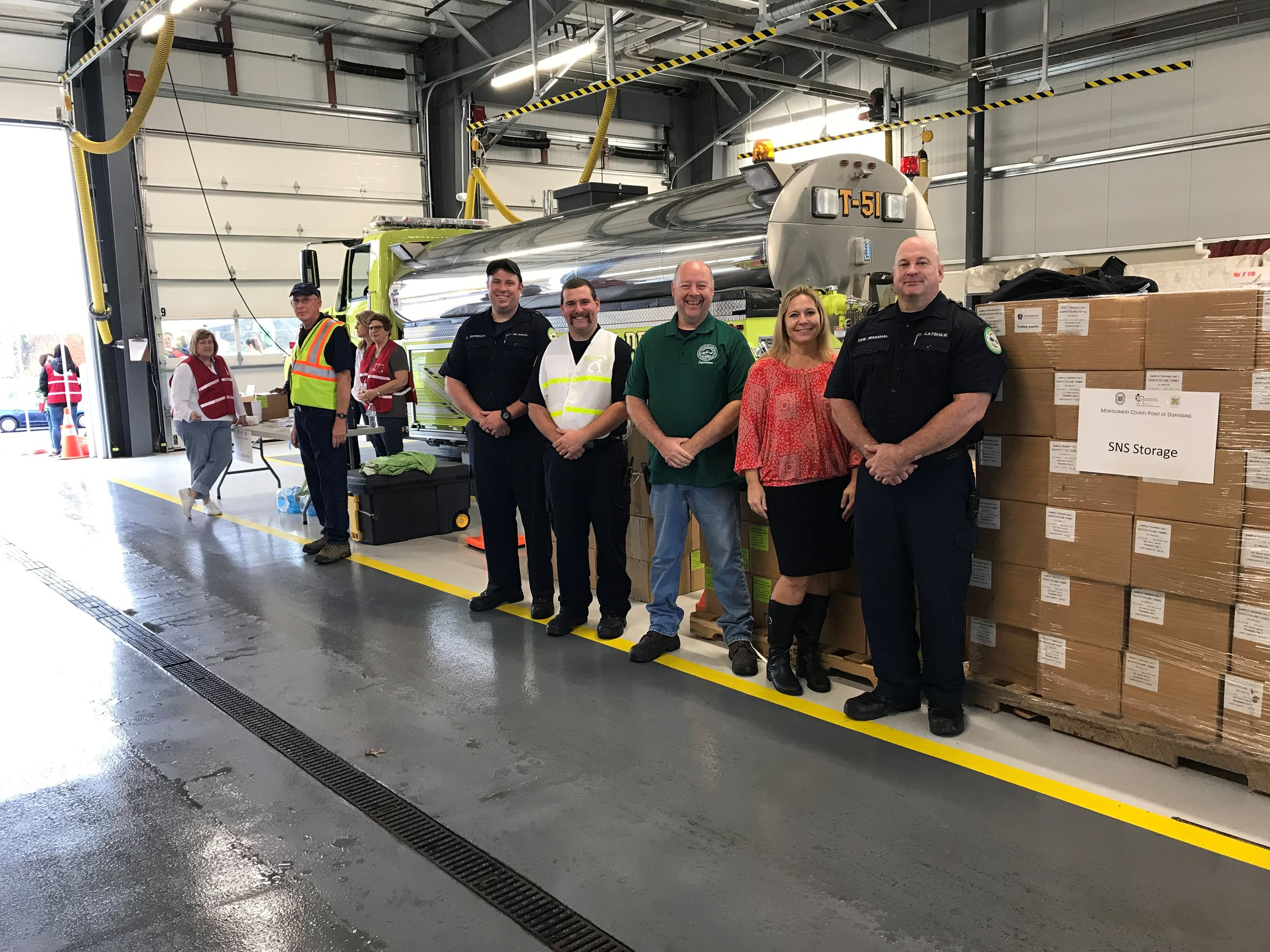 Limeric Township Hosts County POD Exercise