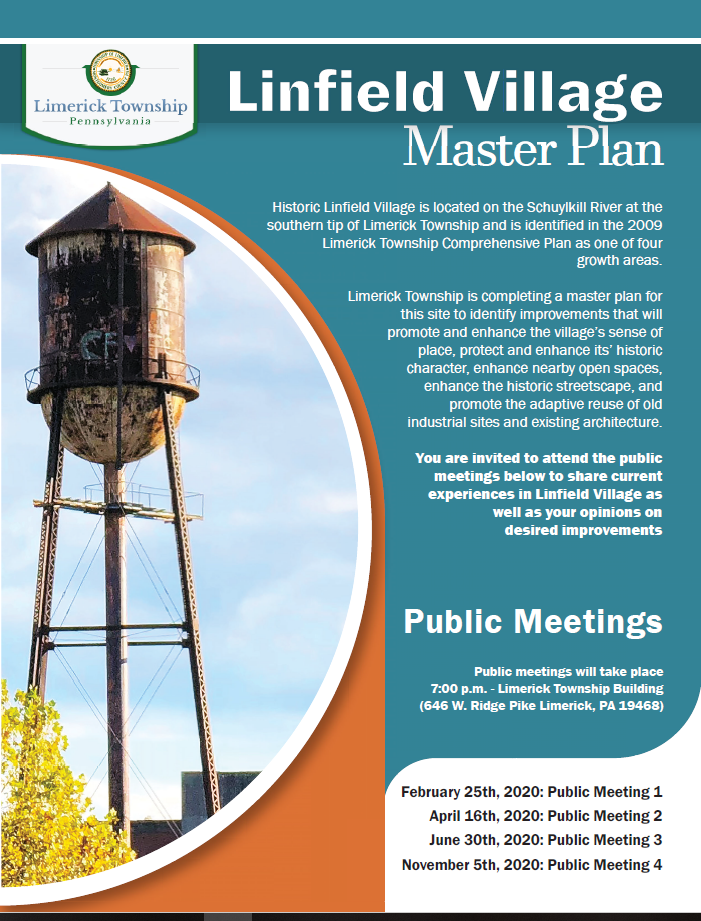 Linfield Public Meeting Flyer