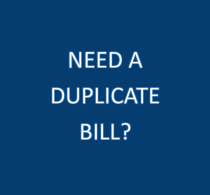 Click Here for More Information on Getting a Duplicate Tax Bill
