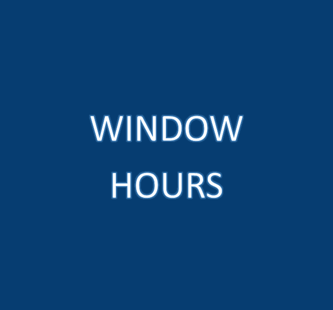 Click Here for More Information on Current Tax Collector Window Hours