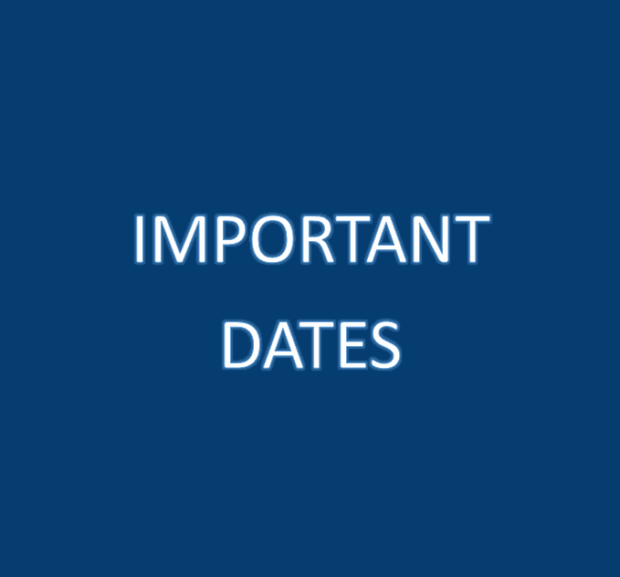 Click here for Information on Important Tax Dates
