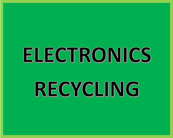 Click Here for More Information on Electronics Recycling