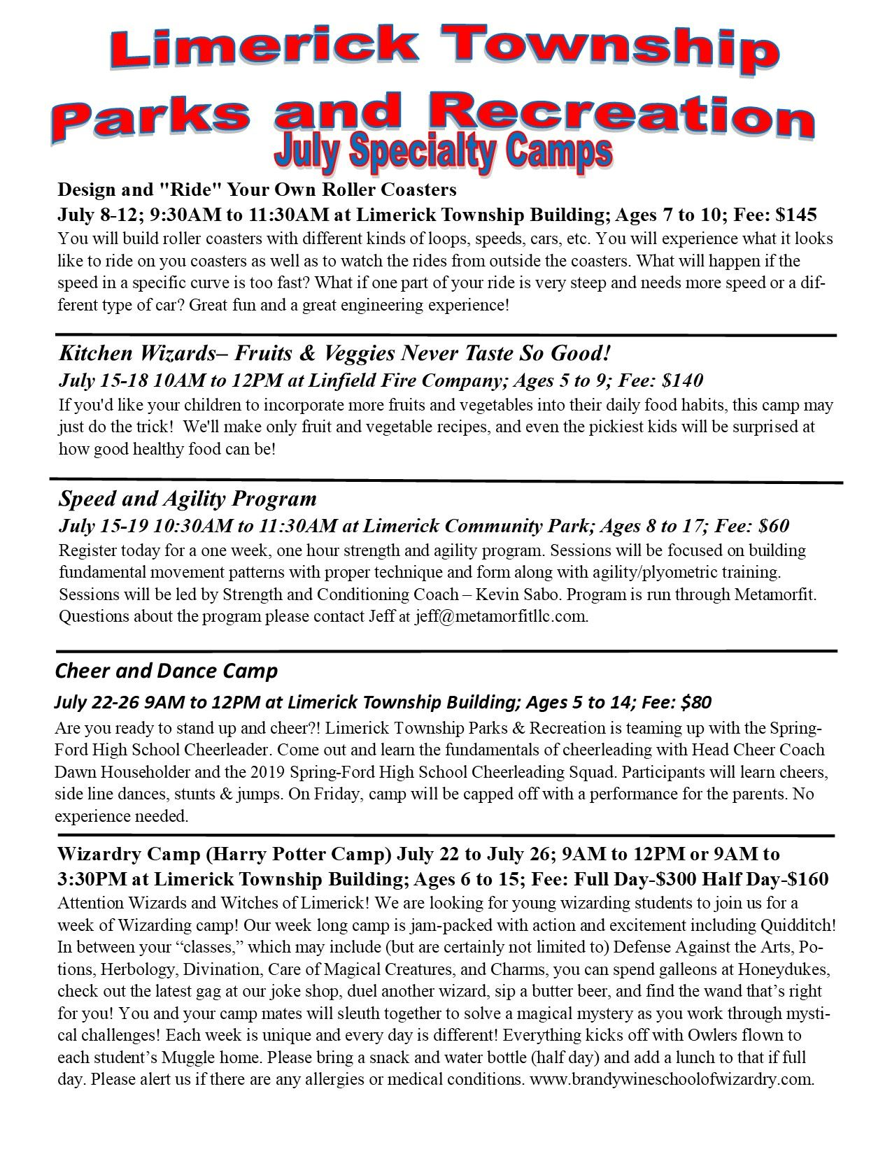 2019 July Specialty Camps pg 1
