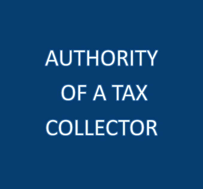Click Here for More Information on PA Tax Collector's Authority